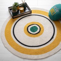 Кръгъл килим Арти , д.115 см.- La Maison