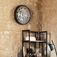 Стенен Часовник Стив  д.51 см. - La Maison