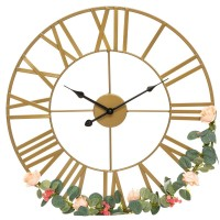 Метален часовник  Винтидж Голд ,  д.50 см. - La Maison