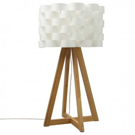 Лампа Моки, бамбук  h.55 см.- La Maison