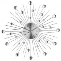 Метален часовник с камъни д. 50 см. - La Maison