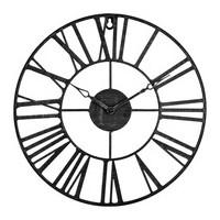 Метален ретро часовник д. 36.5 см. - La Maison