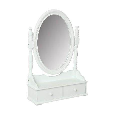 Огледало с шкаф за тоалетка в.75 см. - La Maison