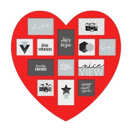 Рамка за снимки сърце  - La Maison