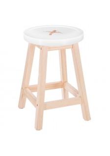 Дървена табуретка Копче   - La Maison