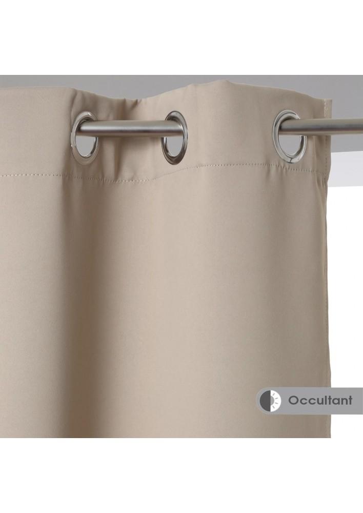 Затъмняващи завеси , цвят лен , 135 х 240 , 2 бр. в комплект -  La Maison