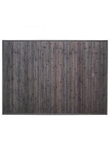 Килим от бамбук , цвят тъмно сив 120 x 170  см.- La Maison