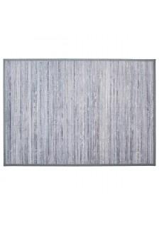 Килим от бамбук , цвят сив  80  x 50  см.- La Maison