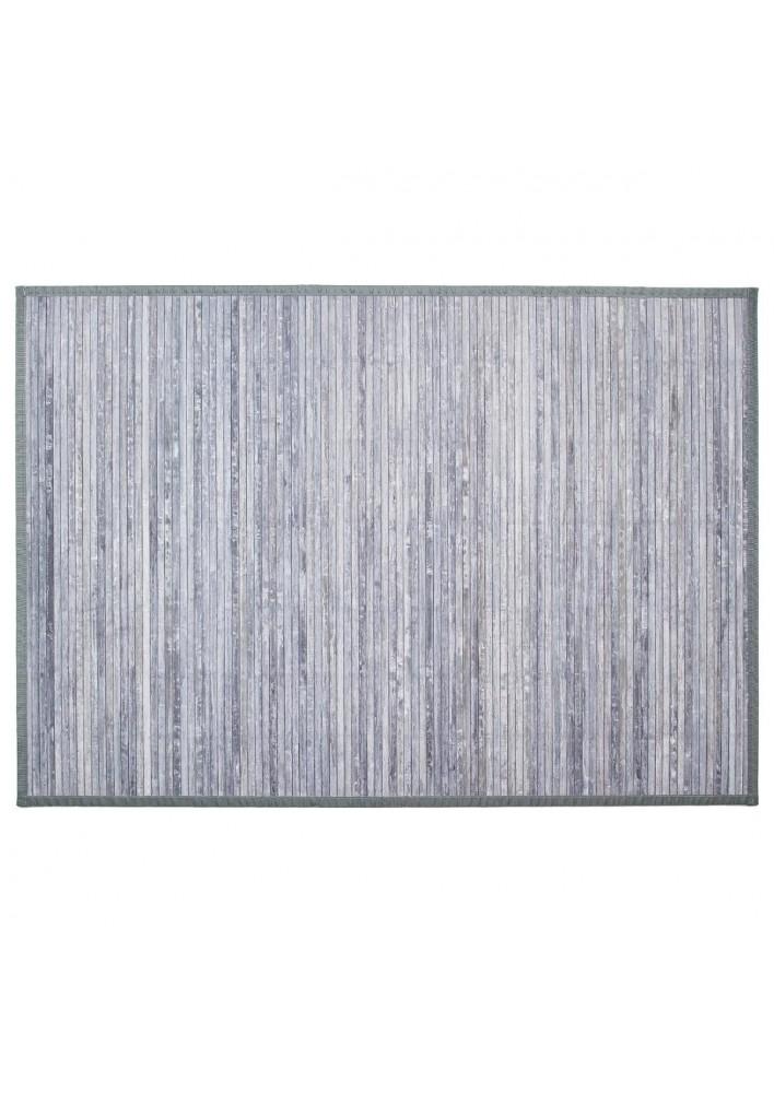 Килим  от бамбук  120  х 170  см., цвят сиво - La Maison