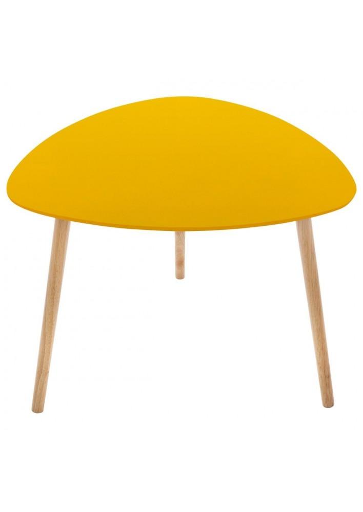Масичка Милео , цвят горчица - La Maison