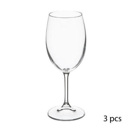 комплект чаши за вино 3бр. Тана