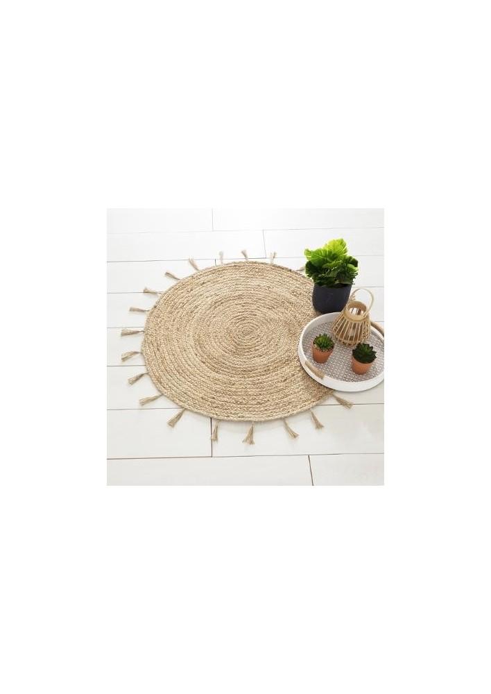 Кръгъл килим Sun  д. 80 см. -  La Maison