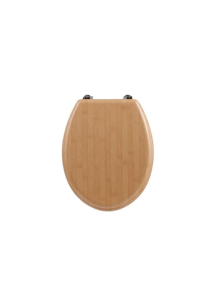 Комплект за тоалетна чиния бамбук - La Maison