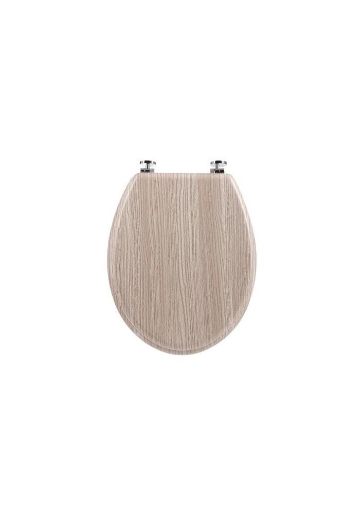 Комплект за тоалетна чиния тъмно дърво - La Maison