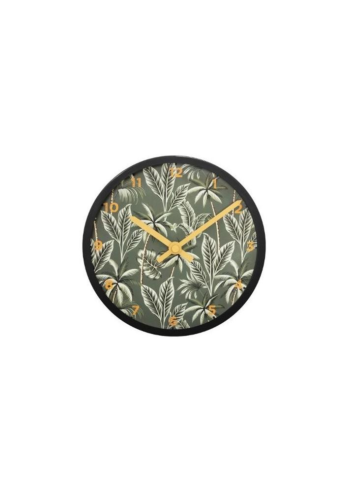 Пластмасов часовник  Тропик  д.11 см. - La Maison