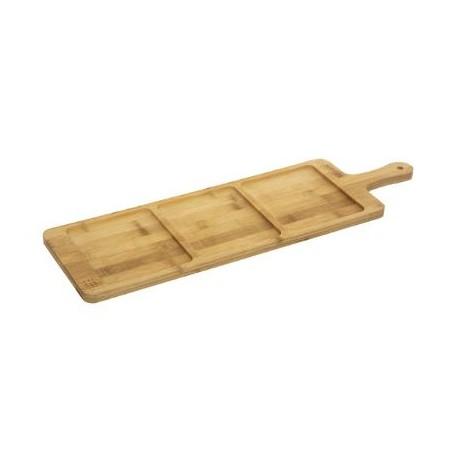 Плато за сержиране бамбук  3 -ka - La Maison