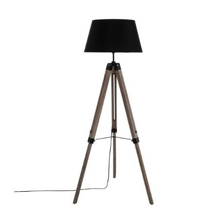 Лампа триножник Руно , цвят черен - La Maison