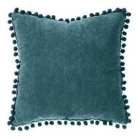 Възглавница Пом Пом синя 40 х 40 см. - La Maison
