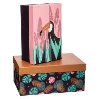Кутии за съхранение 2 бр.к-т Поп - La Maison