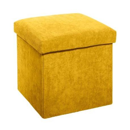 Сгъваем пуф - кутия , Велвет 38 см. - La Maison