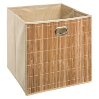 Бамбукова кутия за съхранение 31х 31 см.- La Maison
