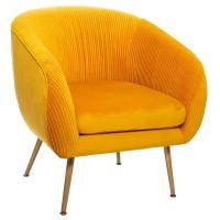 Кресло Соларо цвят горчица - La Maison