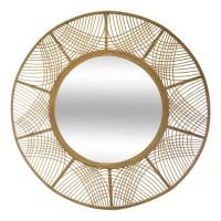 Огледало бамбук Ина д.90 см.- La Maison
