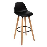 Черен бар стол Максон  - La Maison