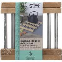 Разтегателна поставка за горещо от бамбук и инкос - La Maison
