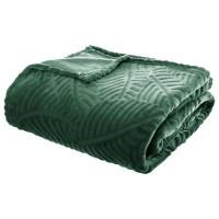 Одеяло Листопад зелено 220 х 240 см -La Maison