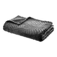 Одеяло Листопад сиво 120 х 150 см -La Maison