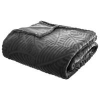 Одеяло Листопад сиво 220 х 240 см -La Maison
