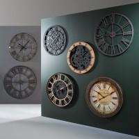 Часовник Механизъм с дърво 58 см. - La Maison