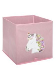 Детска кутия за съхранение Еднорог с  мъниста - La Maison