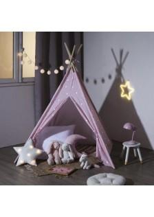 Фосфористираща Типи палатка Пинк - La Maison