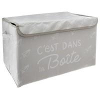 Кутия за съхранение на играчки Грей - La Maison