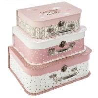 Куфарчета за съхранение Саяна 3 бр. комплект  - La Maison
