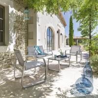 Градински комплект Гили сив-La Maison