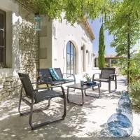 Градински комплект Гили антрацид- La Maison