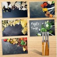 Комплект ножове + поставка дърво - La Maison
