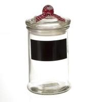 Стъклен буркан с панделка - La Maison