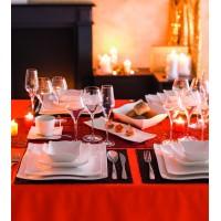 Луксозна чиния от порцелан Вълна 25.2 см. - La Maison