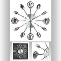 Метален часовник Cuisine д. 38 см. - La Maison