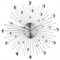 Метален часовник с камъни д.50 см. - La Maison