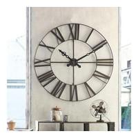 Метален ретро часовник д. 70 см. - La Maison