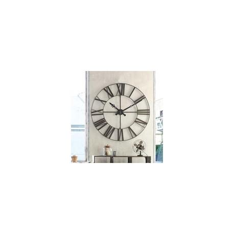 Метален ретро часовник д.70 см. - La Maison