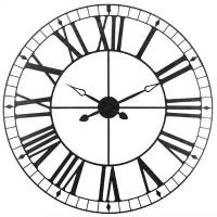 Метален ретро часовник д.90 см. - La Maison