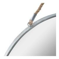 Кръгло, метално огледало с корда д.55 см.- La Maison