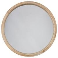 Стенно Огледало с дървена рамка д.52 см.- La Maison