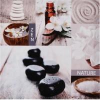 Картина цветя и камъни 28 х 28 см.  - La Maison